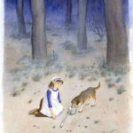 ひしゃくぼし/ 教科書のさし絵  光村図書
