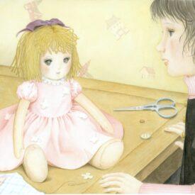 絵本、描いてます。